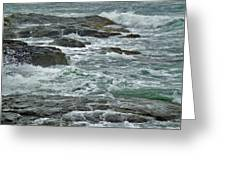 Stormy Day In Rhode Island Greeting Card