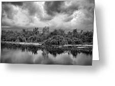 Stormy Lake Trafford Greeting Card