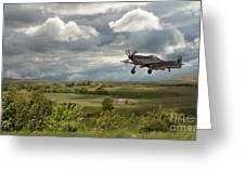Stormy Landing Greeting Card