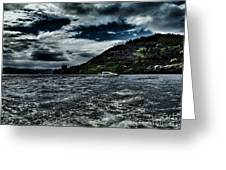 Stormy Loch Ness Greeting Card
