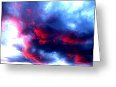 Stormy Monday Blues Greeting Card