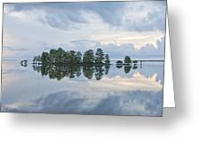 Stormy Morning On The Lake Greeting Card