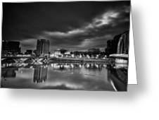 Stormy Morning Over Columbus Greeting Card