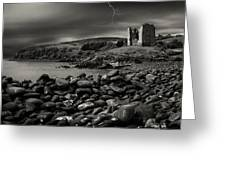 Stormy Night In Ireland Greeting Card