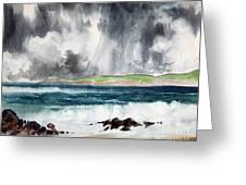 Stormy Ocean Greeting Card