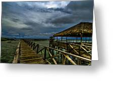 Stormy Siargao Greeting Card