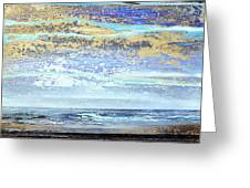 Stormy Skies Hauxley Haven No1 Greeting Card