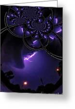 Stormy Skies Illusion Greeting Card