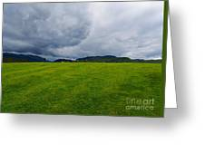 Stormy Sky Above Castlerigg Stone Circle Greeting Card