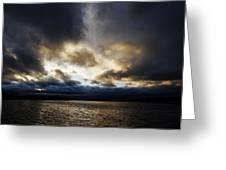 Stormy Sky Greeting Card