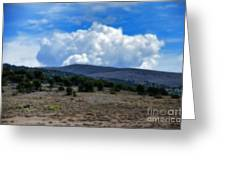 Stormy Wyoming Fall Greeting Card
