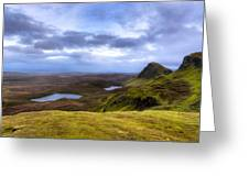 Storybook Beauty Of The Isle Of Skye Greeting Card