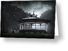 Storytelling Gazebo Greeting Card by Svetlana Sewell