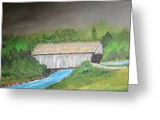 Stovall Covered Bridge Greeting Card