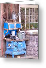 Stove  Appliance Cooker  Kitchen  Antique Greeting Card