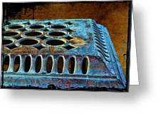 Stove Top Greeting Card