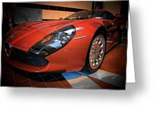 Stradale By Zagato Greeting Card