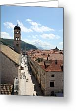 Stradun Greeting Card