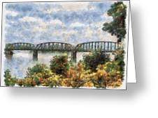 Strang Bridge Greeting Card