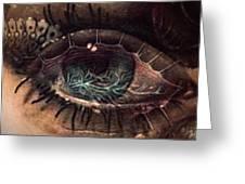 Strange Eye Greeting Card