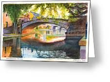 Strasbourg Autumn Evening Greeting Card