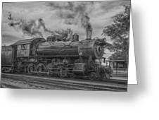 Strasburg Rail 475 In Hdr Greeting Card