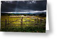 Strathspey Railway Greeting Card
