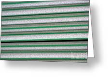 Straw Green Greeting Card