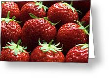 Strawberries (fragaria 'elsanta') Greeting Card