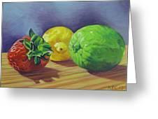 Strawberry Citrus Greeting Card