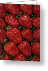 Strawberry Flats Greeting Card