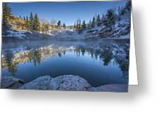 Strawberry Hot Springs Greeting Card