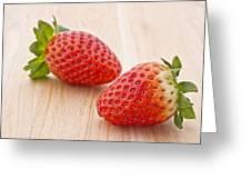 Strawberry Greeting Card