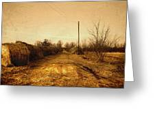 Strawmill Road Greeting Card
