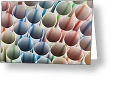 Straws 1 Greeting Card