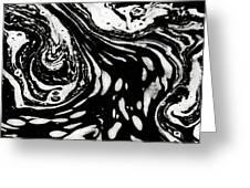Stream Art Greeting Card