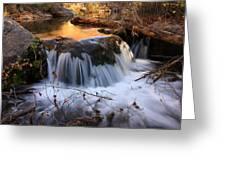 Stream Cascade Greeting Card