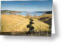 Stream To Kielder Water Greeting Card