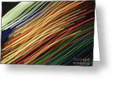 Streamers Greeting Card