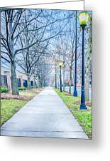 Street Alley Greeting Card