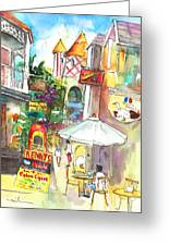 Street In Saint Martin Greeting Card