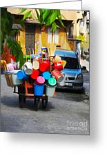 Street Istanbul Greeting Card