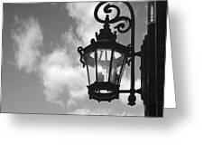 Street Lamp Greeting Card