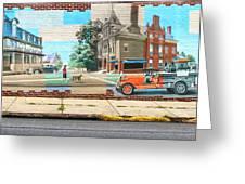 Street Mural Greeting Card