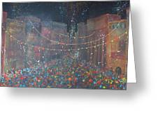 Street Party Greeting Card