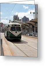 Streetcar Route Greeting Card