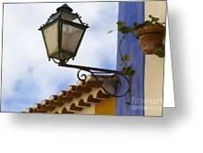 Streetlight Horizontal Greeting Card