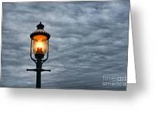 Streetlight Greeting Card