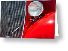 Streetrod Greeting Card