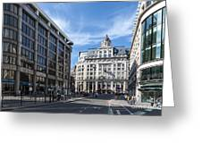 Streets Of London Greeting Card